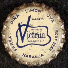 VICTORIA SABROSO WHITE CORK SODA BOTTLE CAP CROWN TIJUANA BAJA CALIFORNIA MEXICO