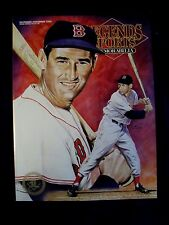 LEGENDS SPORTS MEMORABILIA MAGAZINE TED WILLIAMS ON COVER - HOBBY EDITION #53