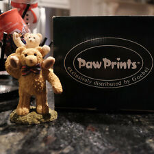 Paw Prints Beau Bears Goebel Collectible Decoration Figurine Melvin & Michael