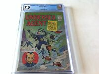 UNDERSEA AGENT 1 CGC 7.0 1ST APPEARANCE DAVY JONES TOWER COMICS DR FANG