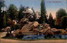 BERN Schweiz 1916 Weltpost Denkmal alte Postkarte Ansichtskarte Feldpost gelauf.