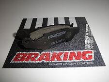 BRAKING PASTIGLIE FRENO ANTERIORI per HONDA-HM 250 CR E SUPERMOTARD 2002 2003