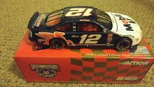 1998 Action 1/24 Diecast Nascar #12 Jeremy Mayfield Mobil 1 Taurus Cw Bank