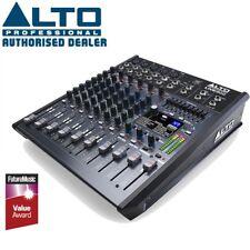 Alto Live 802 Professional 8-Channel 2-Bus USB Mixer Studio Mixing Desk with FX