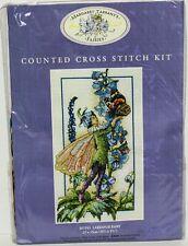 Anchor Margaret Tarrant's Counted Cross Stitch Kit #MTF05 Larkspur Fairy NIP