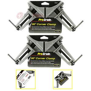 2 Pack 90 Degree Corner Clamp Die Cast Aluminum Pro-Grade 59162