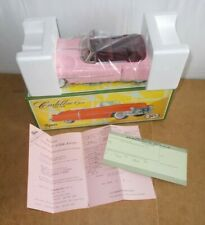 Vintage tin toy - FIFTIES 50's made in Japan - CADILLAC open pink MINT BOXED 80s