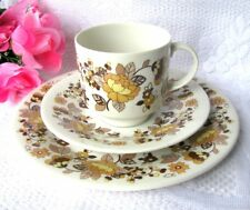 Royal Doulton Indian Summer Teacup Trio Inc Tea Cup, Saucer and Dessert Plate