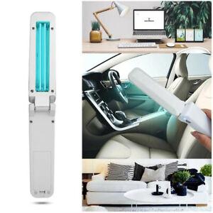 Home Travel UVC Germicidal Lamp Handheld Sterilizer Light Disinfection Tube USB