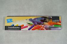 Pastellkreide Pastell Kreide Malen  25 Farben NEU