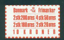 Denmark 1982 10 Kr Booklet Facit H49 print 23