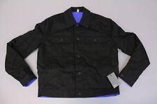ASOS Men's Oversized Reversible Jacket SV3 Blue/Black Small NWT