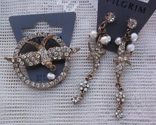 1708b247f0f36 Crystal Yellow Gold Plated Fashion Pins for sale   eBay