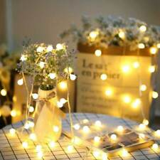Battery Powered Edison Bulb String Lights Outdoor Fairy BBQ Party Wedding Decor