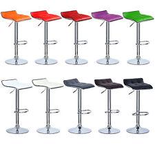 2 Tabourets de bar réglable cuir synthétique cuisine chaise pivotant à 360° f027
