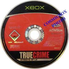 TRUE CRIME - STREETS of LOS ANGELES LA jeu gangster console Microsoft XBOX testé
