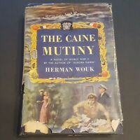 The Caine Mutiny by Herman Wouk 1st Book Club Edition