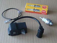 new ignition coil module stihl FS80 FS85 FS75 HS70 HS80 HS85 UK STOCK + PLUG