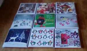 8 x christmas cards assorted designs new in pack 12.5cm x 12.5cm
