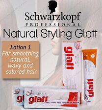 NEW Schwarzkopf Strait Styling GLATT - Hair Straightener Smoother Lotion # 1