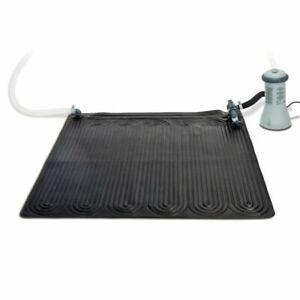 Intex 28685E Above Ground Swimming Pool Water Heater Solar Mat - Black