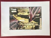 Strawalde, Ohne Titel, aus Serie Schlummernde Venus, Offset, 1997, signiert