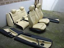 inkl. UMBAU BMW E92 LCI Coupe individual champagner Lederausstattung Leder Sitze