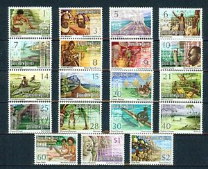 PAPUA-NEW GUINEA   - 1973-4 – COUNTRY LIFE SCENES– VF  (*)