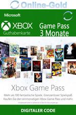 3 Monate Xbox Game Pass Mitgliedschaft Code - Microsoft Xbox One 360 - DE
