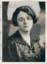 1929 British Labour Politician Ellen Wilkinson Press Photo