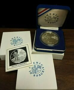 1988 - America in Space - Silver Medal - Young Astronaut Program - Astronaut