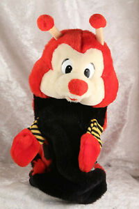 Grove Lovebug ladybird glove puppet 11 inches long story time