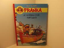 Franka par Henk Kuijpers tome 1 BD Must tirage de tête 750 ex + ex-libris signé