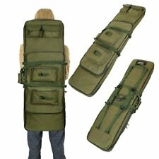 """47"""" Tactical Gun Bag Carbine Rifle Padded Carry Case Storage Double Straps 2020"""