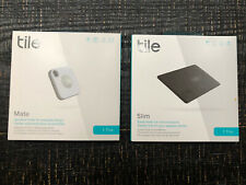 Tile: Mate and Slim Set Of 2, New And Unopened