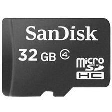 SanDisk 32GO 32G MicroSD SDHC Class 4 TF C4 Memory Card for Camera Phone genuine