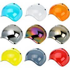 Biltwell Bubble Shield Anti Fog Visor for Bonanza Gringo & 3 Snap Helmets