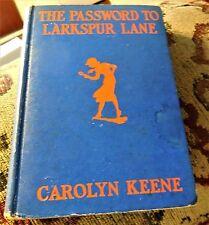 NANCY DREW  The Password to Larkspur Lane  wartime edition