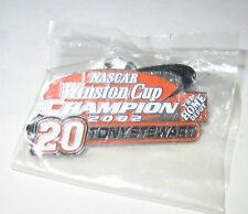 NEW NASCAR WINSTON CUP CHAMPION 2002 TONY STEWART #20 HOME DEPOT COLLECTABLE PIN