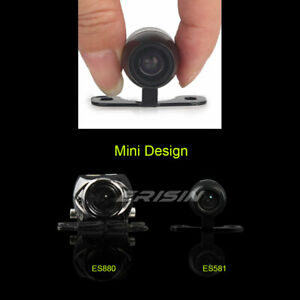 Mini Waterproof HD CCD Reversing Rear View Camera Track Trajectory Dynamic 170°