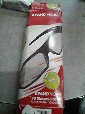 Xpand Vision 3D Glasses Lite RF Active Shutter Bluetooth **READ DESCRIPTION**