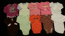 Baby Girl Size 6-9 Months Fall and Winter Clothing Lot *bodysuits*