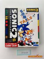 SONIC THE HEDGEHOG 2 II SEGA Game Gear JAPAN Ref:315223