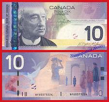 CANADA 10 Dolares dollars 2005/2008 Pick 102Ab SC /  UNC