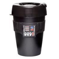 KeepCup Star Wars Darth Vader Reuseable Coffee Cup Travel Mug, 12oz 340ml, Black