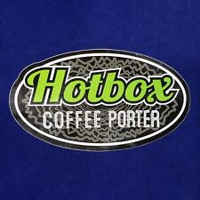 Hotbox Coffee Porter Vinyl Sticker Decal - Oskar Blues Brewing - Craft Beer