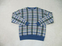 VINTAGE Nautica Sweater Adult Extra Large Brown Blue Sailing Pullover Mens A32