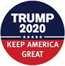 Donald Trump President 2020 REMOVABLE Magnetics Bumper UV Magnet Car Magnets USA