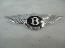 BENTLEY Mark VI, R Type and S1, S2 and S3 rear bumper badge   Condition: New