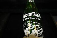Barney and Ally Vintage Mountain Dew Bottle Knoxville Tennessee 7 oz.
